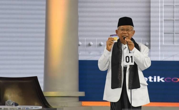 Maruf Amin Janji Dana Abadi Kebudayaan