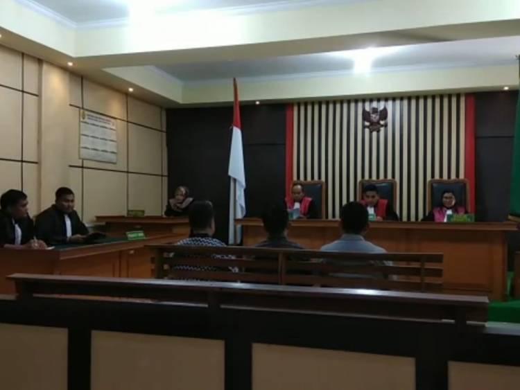 Diduga Korupsi Fee Dana Desa Hasil Panen Pohon Akasia, 3 Karyawan PT WKS Ajukan Eksepsi