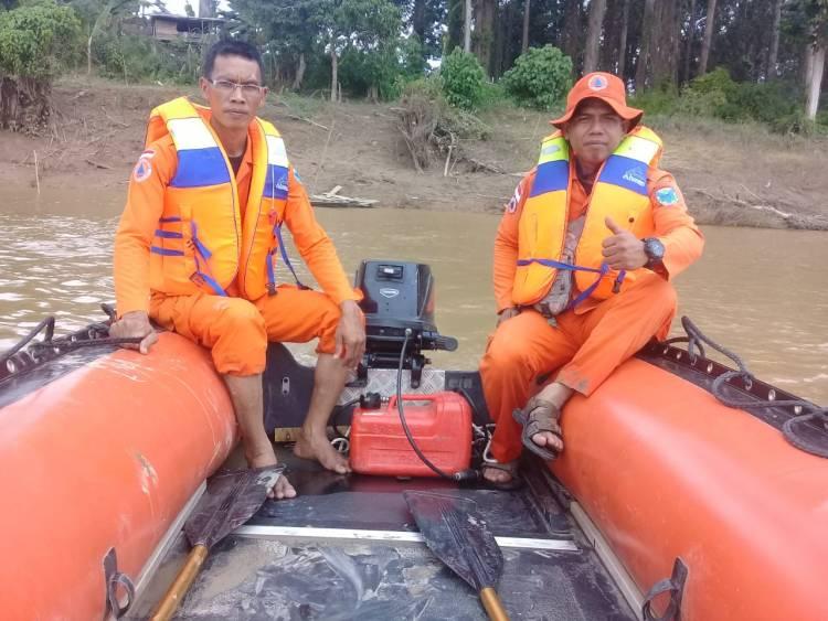 Delapan Jam Berlalu, Korban Tenggelam di Desa Jelutih Belum juga Ditemukan