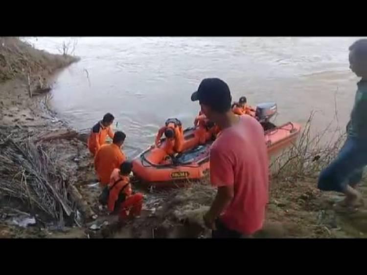 47 Jam Pencarian, Korban Tenggelam di Desa Jelutih Ditemukan Meninggal Dunia