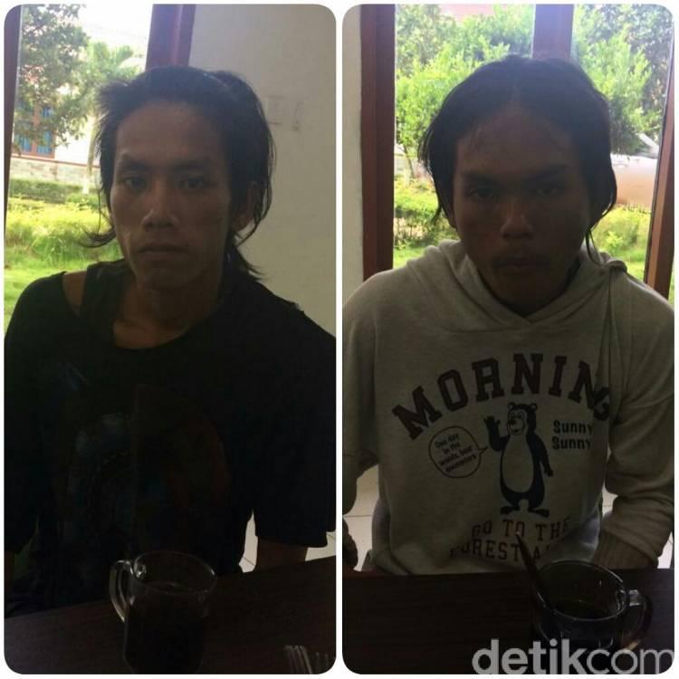 Ini Dia Dua Pelaku Pemerkosa dan Pembunuh Keji Calon Pendeta di OKI Sumsel
