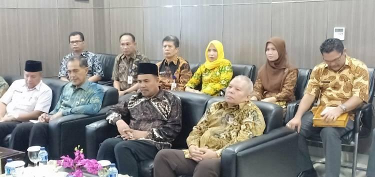 Serahkan Laporan Keuangan ke BPK RI, Sarolangun Berharap  Raih WTP