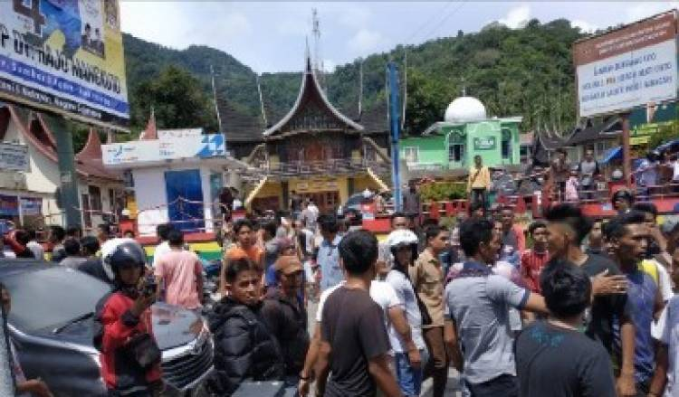 Debt Collector Tewas Diamuk Massa di Maninjau, Begini Kata Polisi