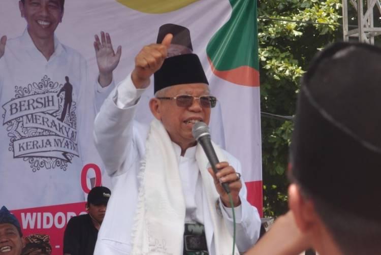 Ma'ruf Amin: Saya Kira Pernyataan Prabowo Tentang Indonesia Tak Dihormati Negara Lain Tak Betul!