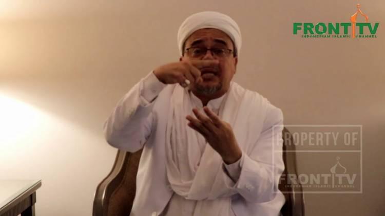 Habib Rizieq Sebut Ketua TPS di Saudi Diimingi Duit Agar Surat Suara Tercoblos Jokowi