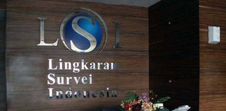 LSI: Elektabilitas Jokowi-Ma'ruf 63,2 Persen dari Prabowo-Sandi