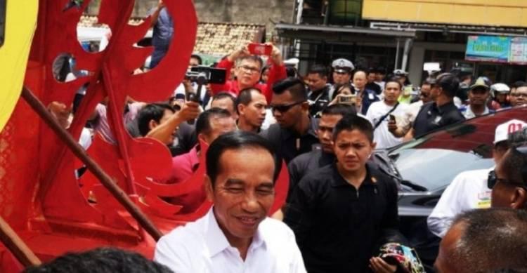 Dihadapan Wong Palembang, Jokowi: Biaya Pemilu 2019 Rp25 Triliun, Jangan Golput