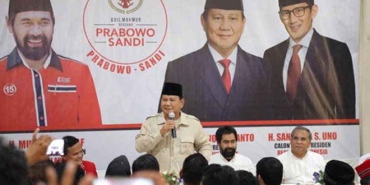 Capres Prabowo Subianto Batal Kunjungi Aceh