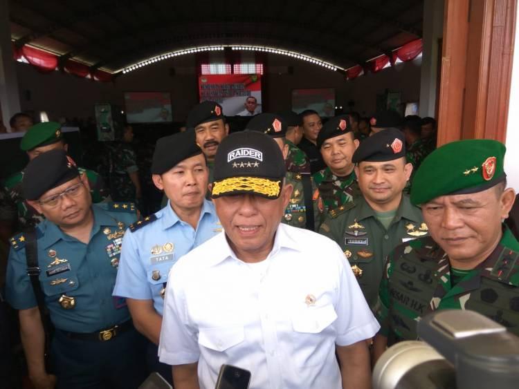 Menhan Tegaskan TNI Netral Pada Pemilu 2019