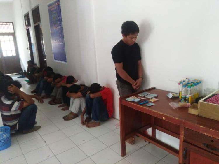 Di Pulau Pandan Jambi, Kurir Narkoba Ini Biasa Jual Hingga 3 Gram Sabu