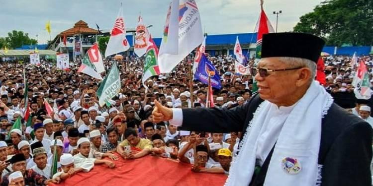 Kampanye di Garut, Maruf: Dulu Kalah, Sekarang Harus Menang!
