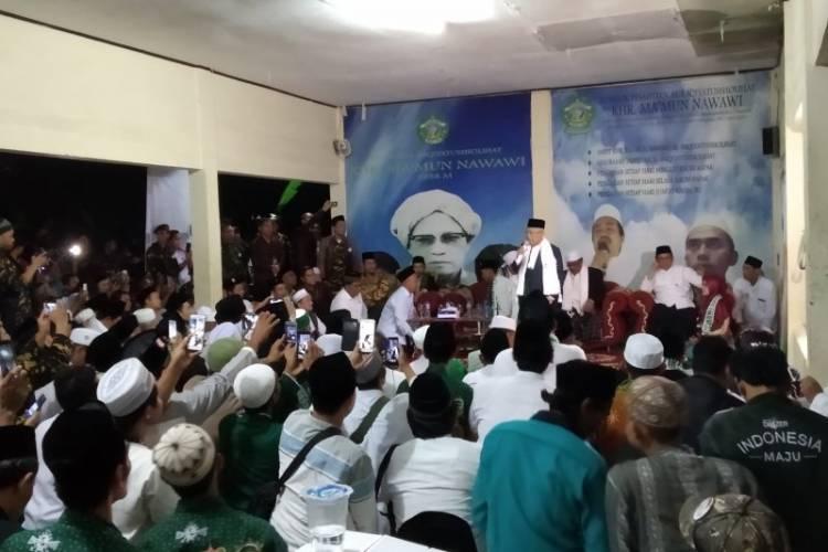 Ma'ruf: Islam Adalah Agama, Pancasila Adalah Dasar Negara Tidak Bertabrakan