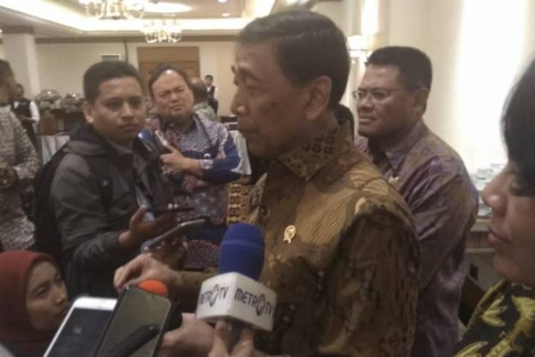 Undang Puluhan Pimred, Wiranto: Saya Tidak Mengarahkan atau Mendikte
