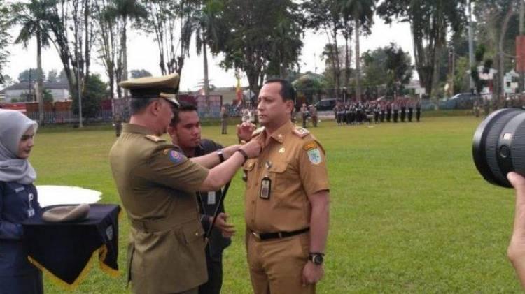Walikota Jambi Lakukan Pembaretan Kabag Humas Pemkot