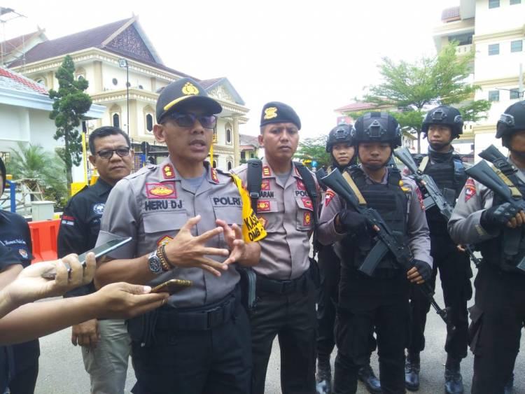 Masuk Rawan Konflik, Polda Jambi Siagakan 423 Personil Pengamanan TPS