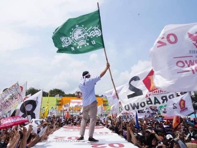 Sandi Kibarkan Bendera NU, Said Aqil: Bendera NU Tidak Boleh untuk Kampanye Politik