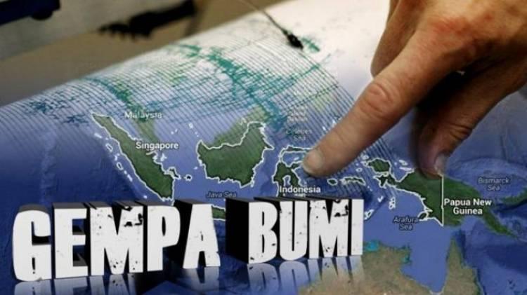 Gempa Magnitudo 6,9 Guncang Sulteng Berpotensi Tsunami