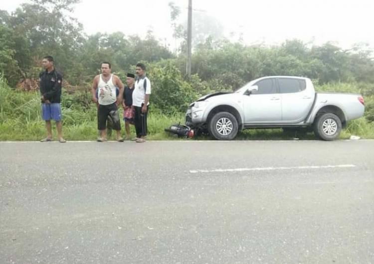 Di Merangin, Satu Keluarga Dihantam Mitsubishi Triton Tewas di Tempat