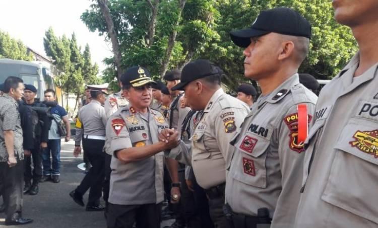 Kapolda Jambi Lepaskan 1.329 Personel Bertugas di TPS