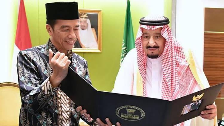 Jokowi Diundang Raja Salman ke Arab Saudi