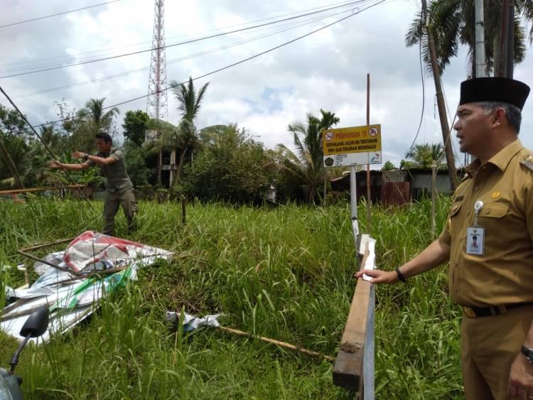 Masa Tenang Pemilu, Walikota Fasha Turun Gunung Tertibkan APK