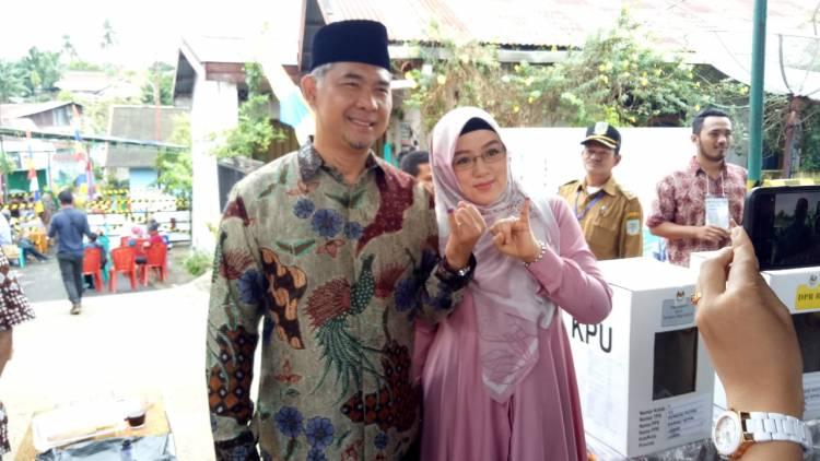 Selain Gubernur Jambi, di TPS Walikota Jambi Prabowo-Sandi juga Menang Telak