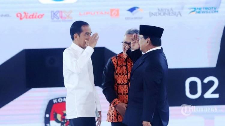 Jokowi Sementara Unggul di Hitung Cepat Sejumlah Lembaga Survei