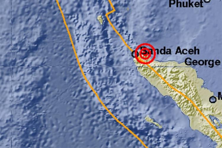 Gempa Bumi 5,0 Pada Skala Richter Guncang Aceh