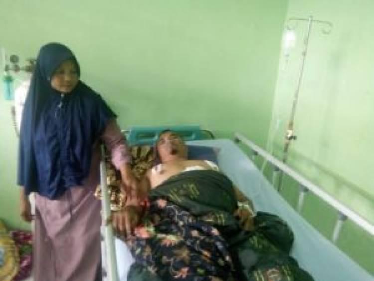 Kades Sekampil Bungo Dibegal, Korban Alami Tiga Tusukan