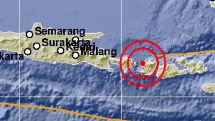 Gempa Bumi 4,5 SR Guncang Lombok-Bali
