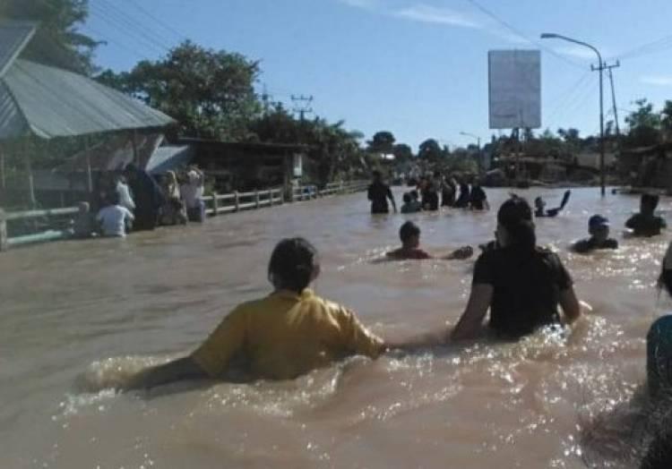 Banjir Terparah di Bengkulu, BPBD Sebut 8.000 Kepala Keluarga Jadi Korban
