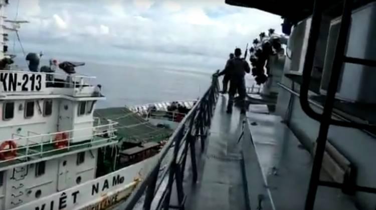Begini Kata TNI AL Alasan KRI Tjiptadi Diam Saat Ditabrak Kapal Vietnam
