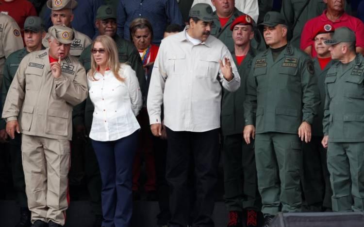 Presiden Maduro Tampil Bersama Menteri Pertahanan Setelah Upaya Kudeta