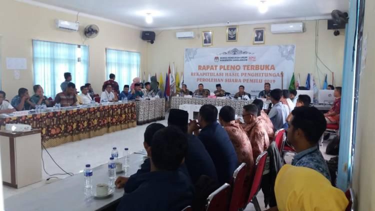 Rapat Pleno KPU Sarolangun Terbuka yang Berlangsung Tetutup