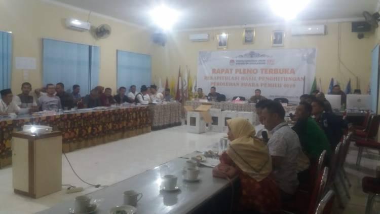 Pleno KPU Sarolangun Baru Bahas Tiga Kecamatan