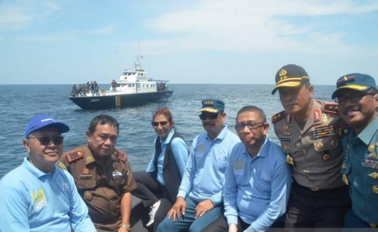 Susi Tenggelamkan 26 Kapal Asing di Kalbar