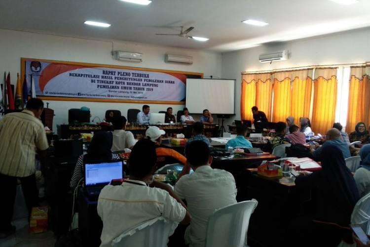 Prabowo-Sandi Unggul Pilpres di Bandarlampung