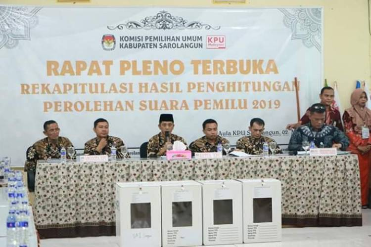 Ini 35 Anggota DPRD Sarolangun Terpilih 2019-2024