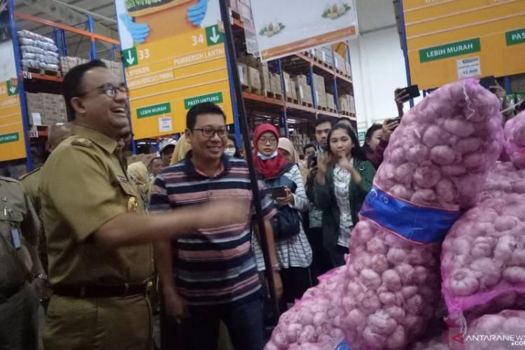 Harga Naik, Anies: Pasokan Bawang Putih 145 Ton di Jakarta