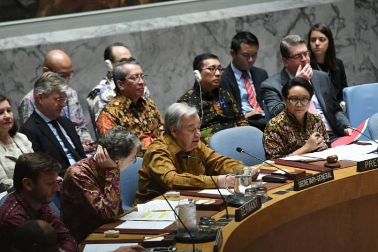 Sekjen PBB Salut Keterlibatan Indonesia Dalam Pemeliharaan Perdamaian