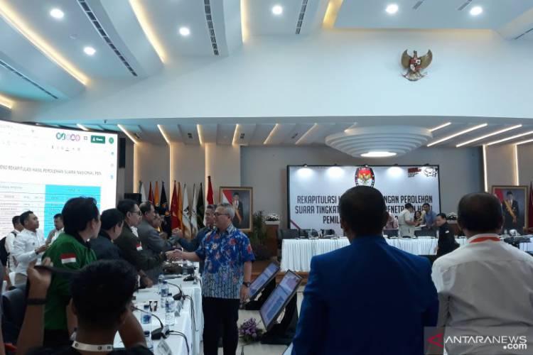 Hasil Sementara Rekapitulasi Nasional, Jokowi Menang di Enam Provinsi Ini