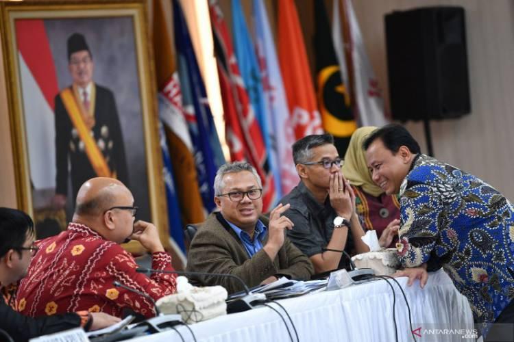KPU Agendakan Tujuh Provinsi Rekapitulasi Rabu