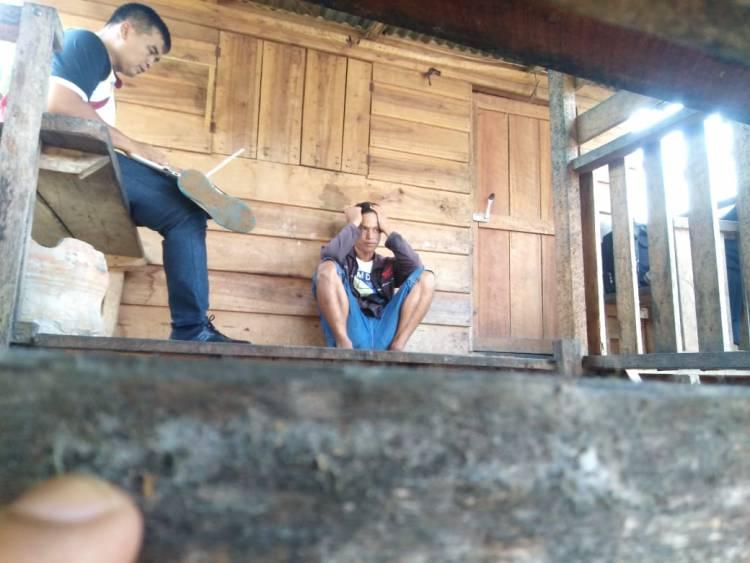 Sisir Kampung Pembalak Liar, Polisi Sempat Tangkap Muhamadiyah