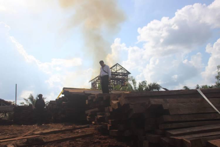 Mabes Polri Kantongi Nama Investor Perambahan Hutan di Jambi