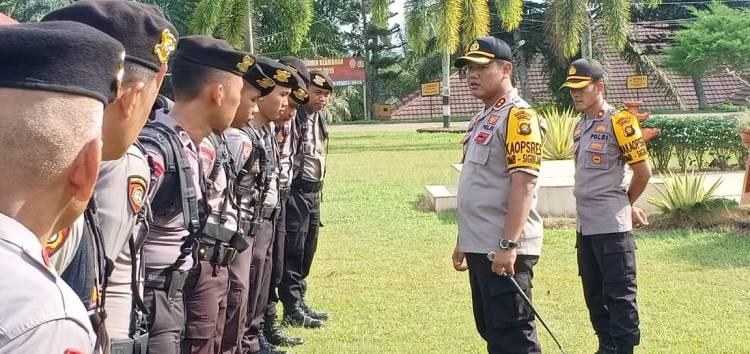 Menjelang Pengumuman KPU 22 Mei, 21 Polisi Muarojambi Dikirim ke Jakarta