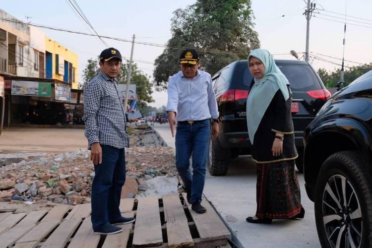 Masnah Janji Pembangunan Jalan Poros Marene-Lopak Alai Selesai 2019