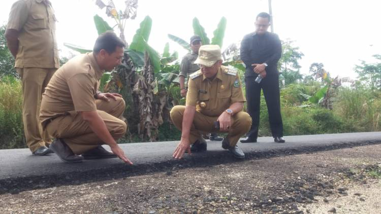 Jalan Rusak di Desa, PUPR Sarolangun Siapkan Dana Swakelola Rp1 Miliar