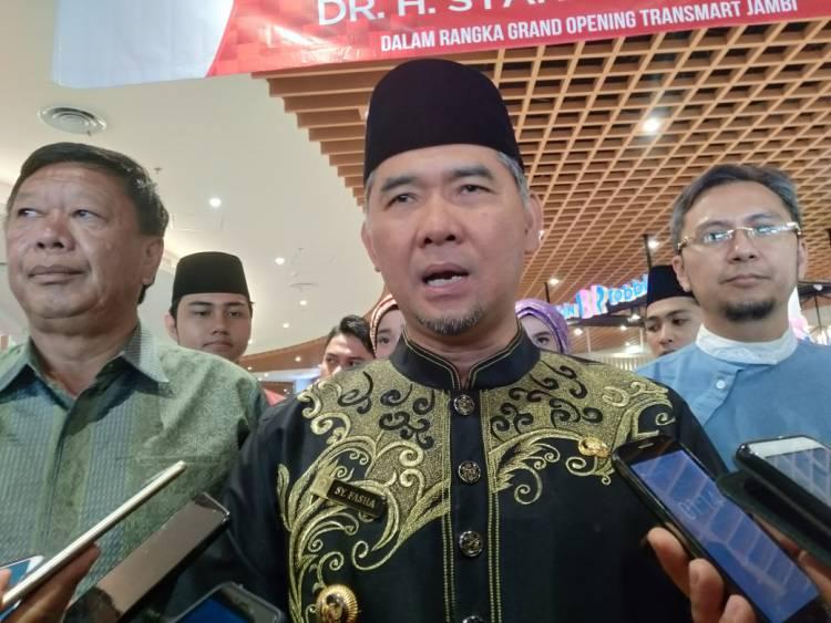 Macet di Depan Transmart Jambi, Walikota: Ya, Harap Maklum Saja!