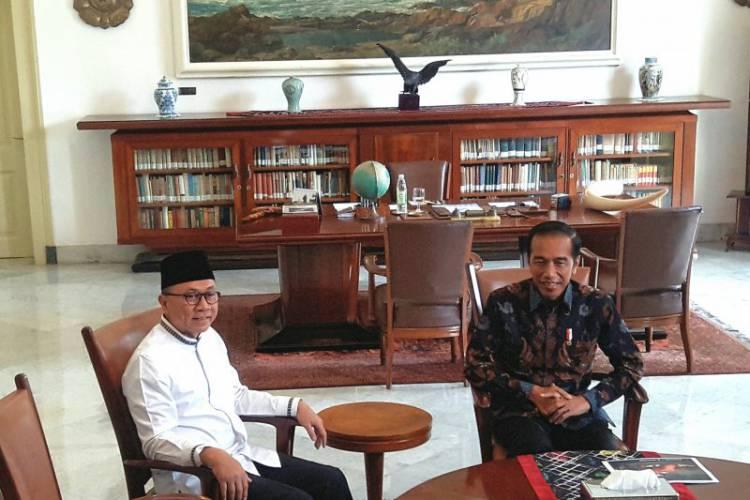 Jumpa Jokowi, Zulkifli Hasan: Tidak Bahas Koalisi