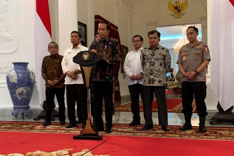 Jokowi: Sudah Disediakan Segala Perselisihan Diselesaikan Melalui MK